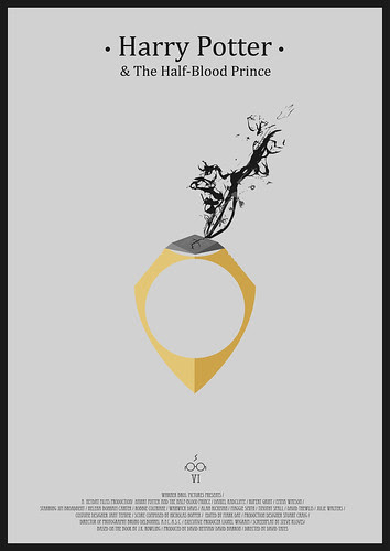 Harry Potter And the Half-Blood Prince - Minimalist Poster