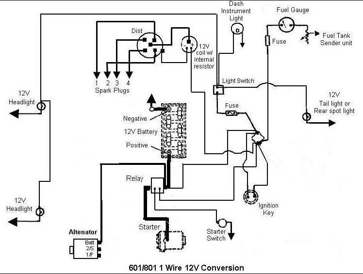 Ford 7810 Wiring Diagram