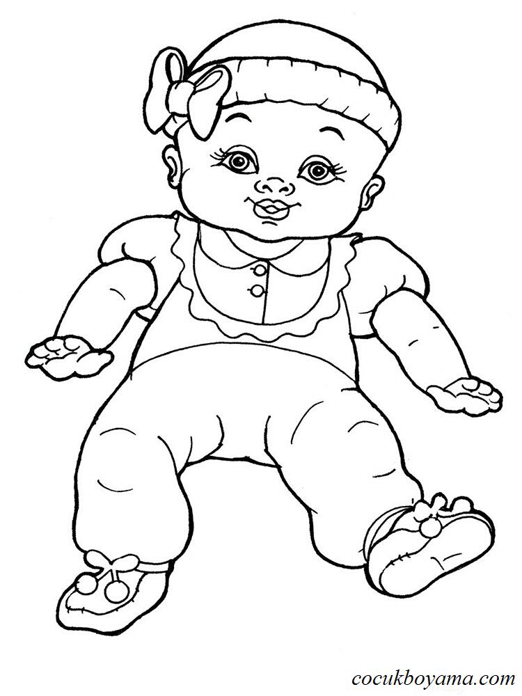 Bebek Boyama 4 ücretsiz Boyama Resimleri