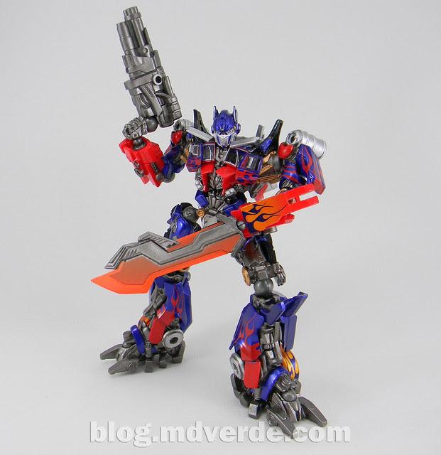 Transformers Optimus Prime - Dark of the Moon - Sci-Fi Revoltech
