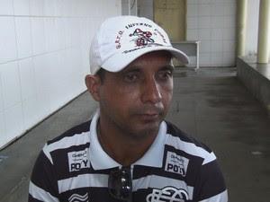 Operador de máquinas José Márcio Campos da Silva, pai de Alisson. (Foto: Reprodução / TV Globo)