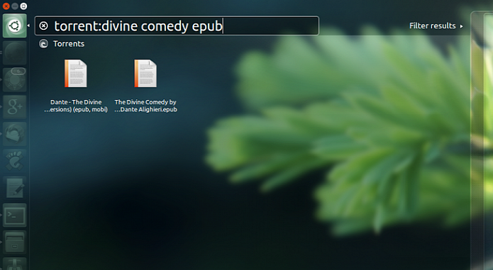 Ubuntu virá com busca de torrente diretamente no Dash (Foto: Reprodução/Softpedia)
