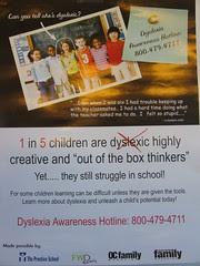 Dyslexia Awareness Hotline