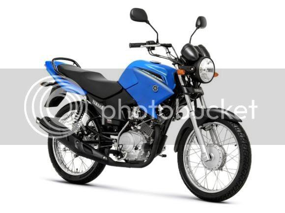 Fotos da nova Yamaha YBR Factor 125 K Azul modelo 2014