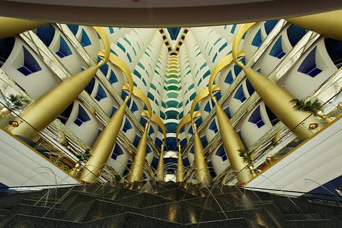 Dubai Burj Al Arab - Interior