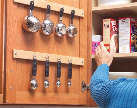 5 Space Saving Solutions To Mount Inside Kitchen Cabinet ...