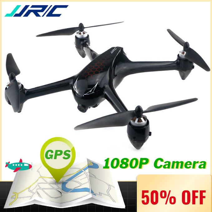 JJRC X8 RC Drone with Camera 1080P 5G Wifi FPV Professional Drone GPS Positioning Quadcopter Brushless Motor 18 mins Flight Time