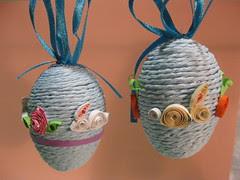 Quilled Rabbit Eggs