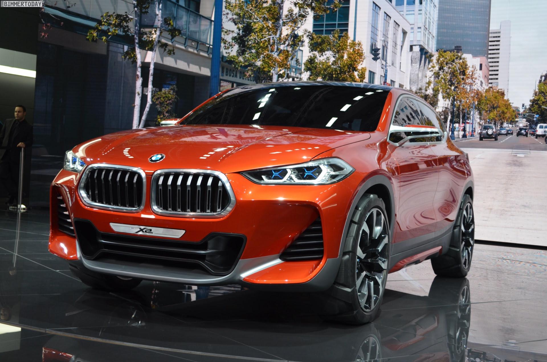 BMW X2 Concept: Erste Live-Fotos vom Autosalon Paris 2016