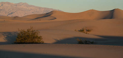 Dawn at Mesquite Dunes, Death Valley by ghaff