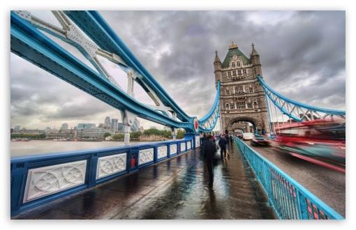London Tower Bridge 4K HD Desktop Wallpaper for 4K Ultra HD TV • Tablet • Smartphone • Mobile