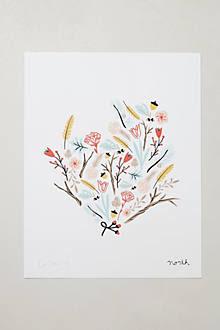 Botanical Print By Caitlin McClain