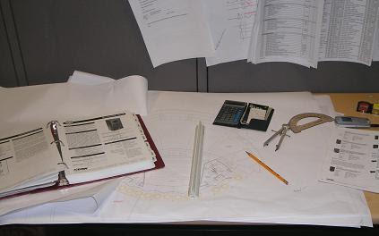 Blueprints on My Desk