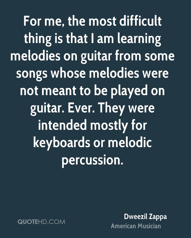 Dweezil Zappa Quotes Quotehd
