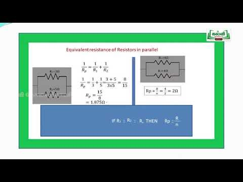 NEET  JEE Physics Current Electricity Kalvi TV