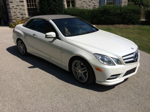 Purchase used 2012 Mercedes-Benz E550 Base Convertible 2 ...