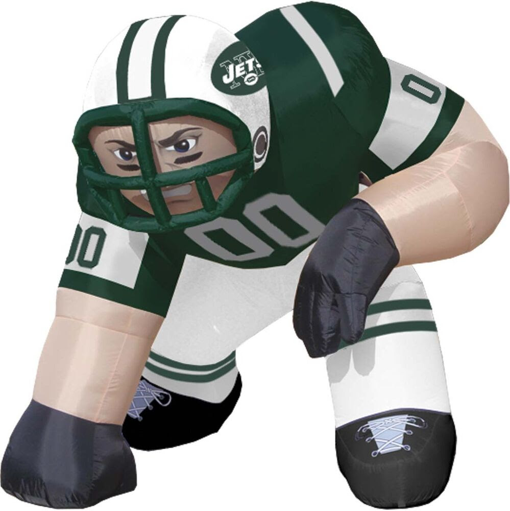 New York Jets 5 NFL Lawn Inflatable  Tailgate Mascot Bubba Football Player  eBay