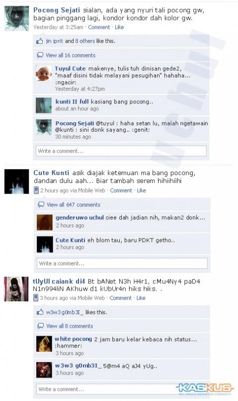FB hantu