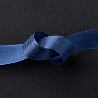 "Night Of Navy 1/2"" Seam Binding Ribbon"