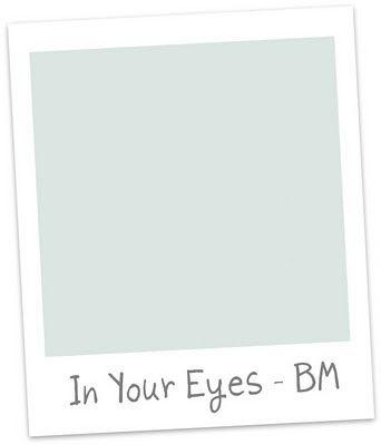 benjamin moore in your eyes - master bathroom walls