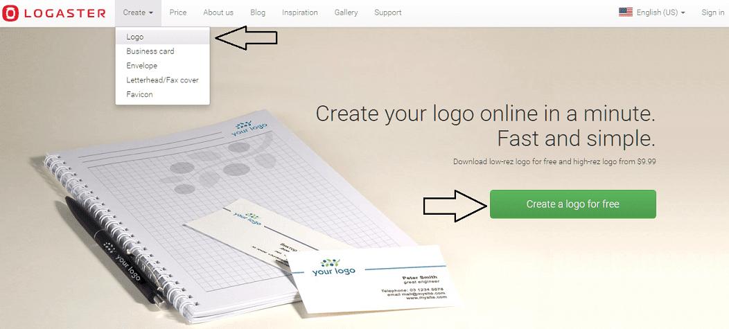 موقع Logaster لتصميم شعارات احترافية لشركتك وأعمالك