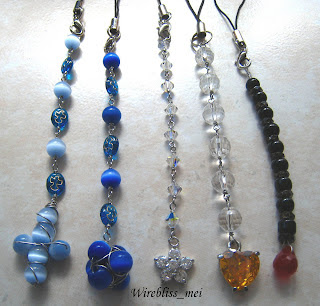 Wire Wrap Handphone Jewelry