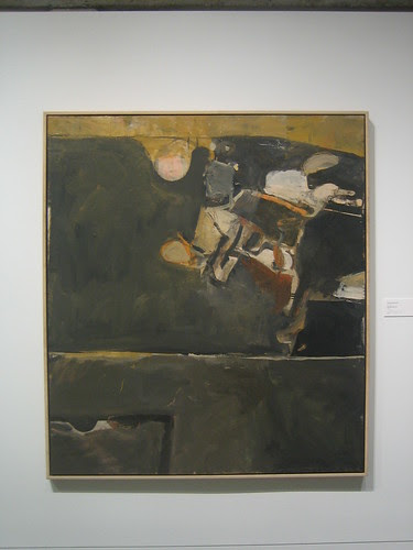Berkeley No. 20, 1954, Oil on Canvas, Richard Diebenkorn, Oakland Art Museum _ 9480