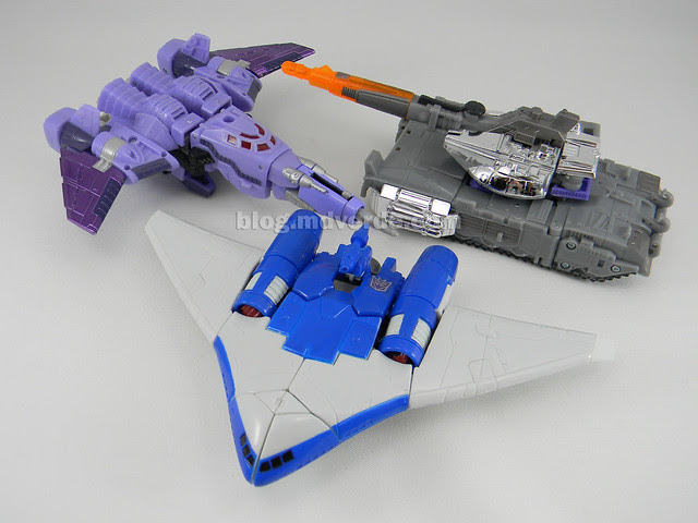 Transformers Scourge Generations - modo alterno vs Galvatron vs Cyclonus