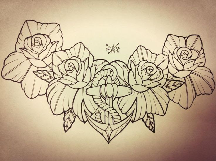 Chest Tattoo Drawing At Getdrawingscom Free For Personal Use