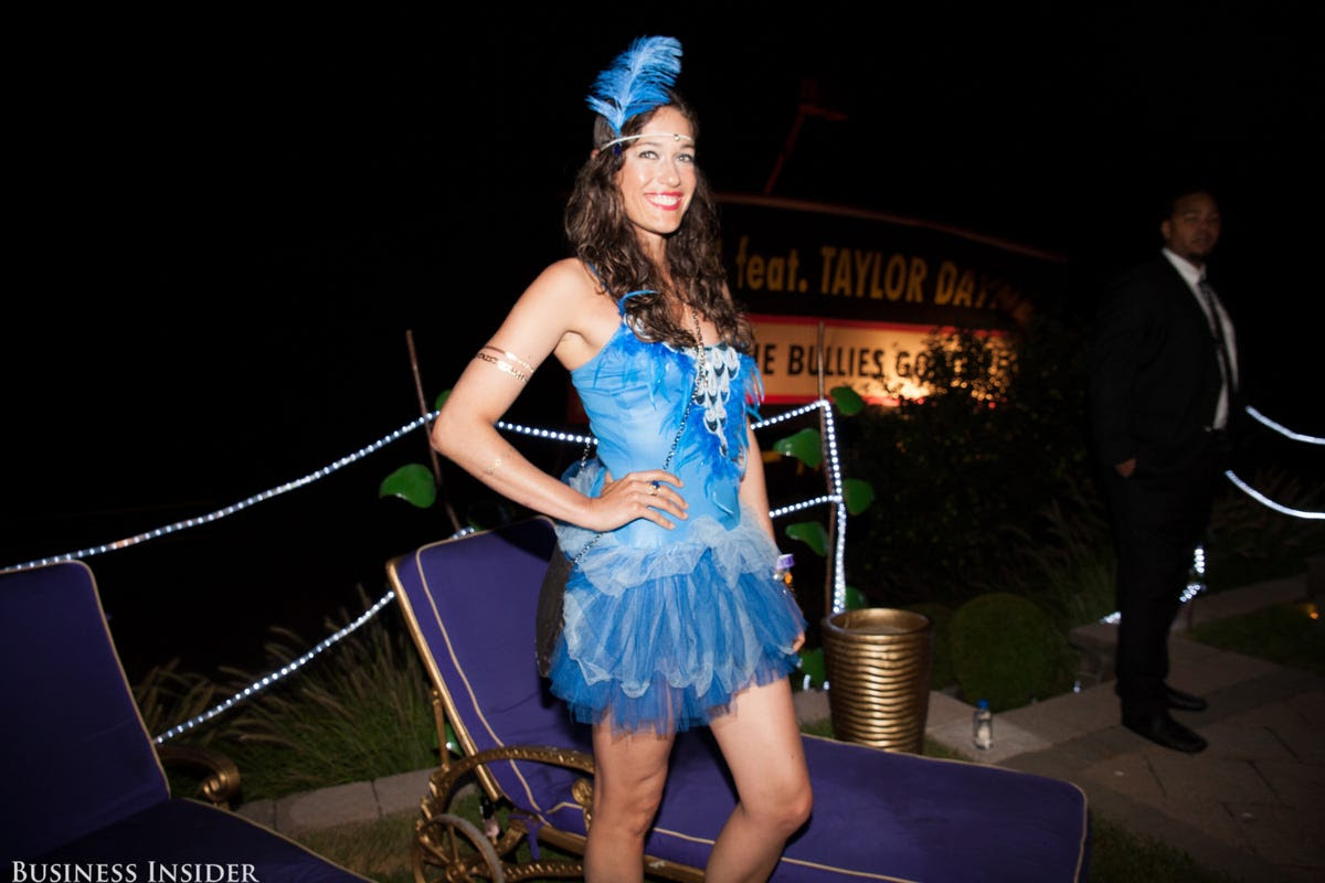 The dress-code wasn't too tight, so many guests got creative with their get-ups.