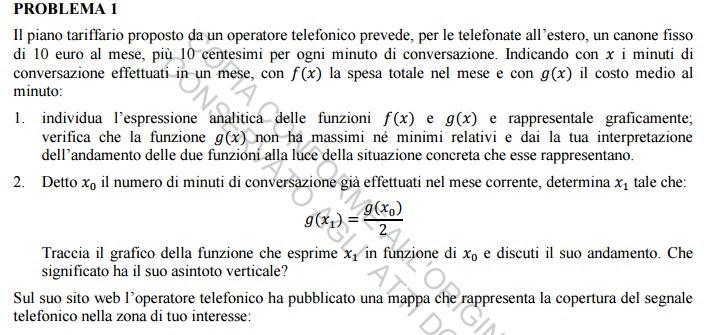 Maturità, ecco la soluzione della prova di matematica ...