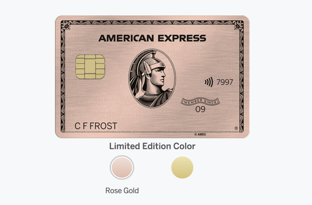 LIMITED: Rose Gold Amex Returns ✈ Pointed Out