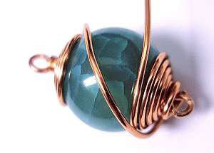 Caged Wire Wrapped Bracelet