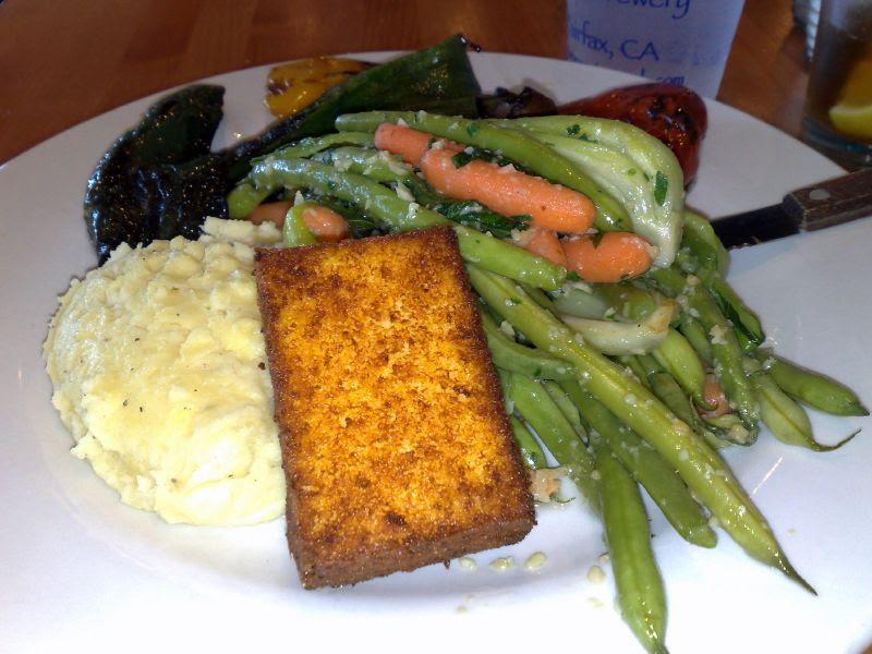 Grilled Seasonal Vegetable Plate