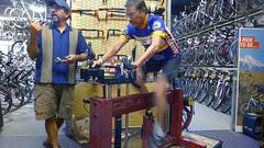 Bike fit machine