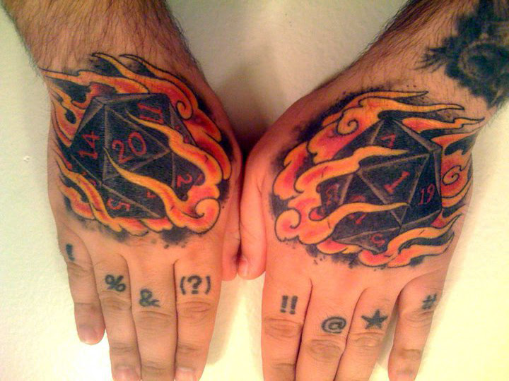 Dd Dungeons And Dragons Tattoo Ideas