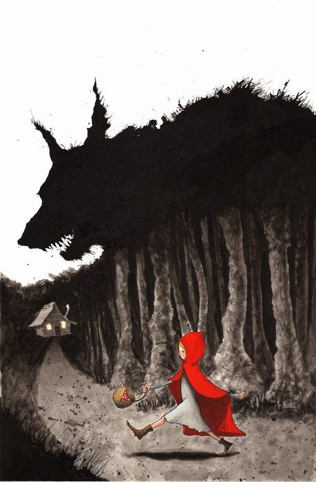 little red riding hood - so scary