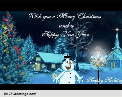 Special Christmas Interactive Wishes! Free Merry Christmas