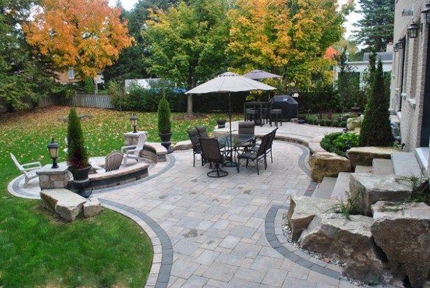 Back Yard Patio Design
