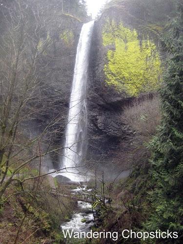 8 Latourell Falls (Winter) - Columbia River Gorge - Oregon 3
