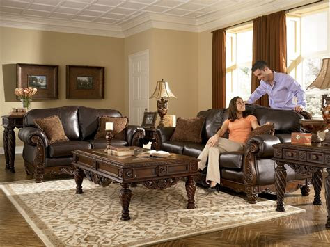 world living rooms leather brown traditional