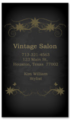 BCS-1128 - salon business card