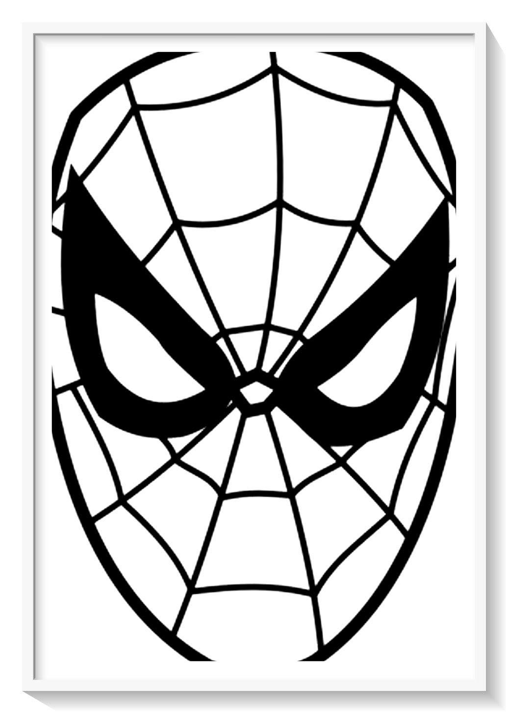 Dibujos De Spiderman Y Venom Para Colorear