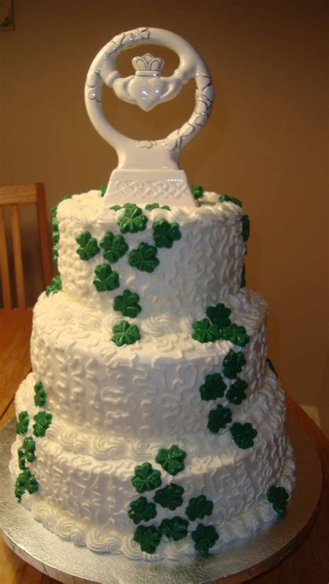Irish wedding cake   Irish wedding cakes   Pinterest