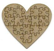 Jigsaw Heart large