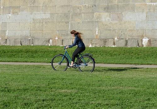 Pilen Bicycle, Castle Island