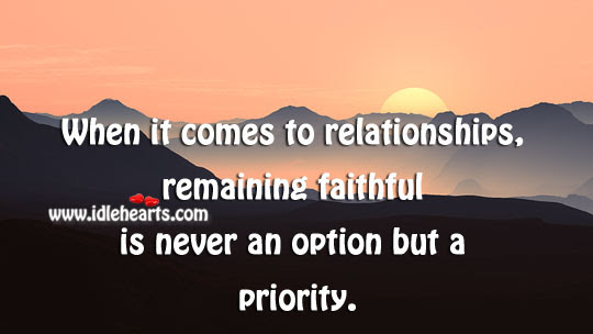 Quotes About Remaining Faithful 24 Quotes