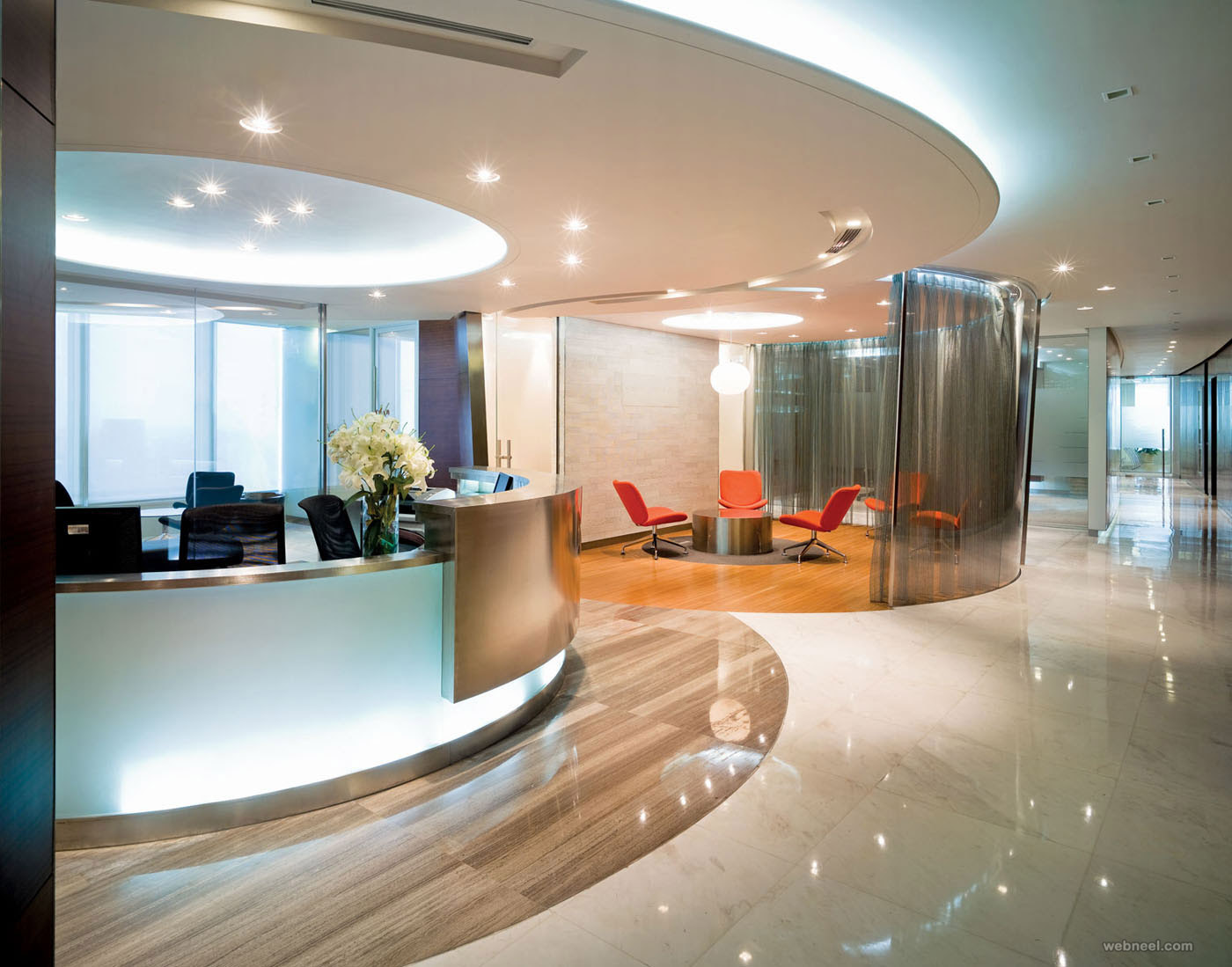 Modern Office Design In Luxury Modern Office Design Idea Back To Article Image I