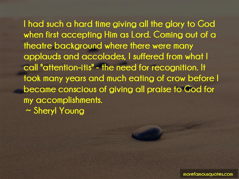 Quotes About Giving The Glory To God Top 20 Giving The Glory To God