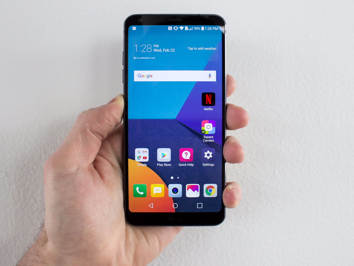Samsung's Galaxy S8 screen is better for using apps than ...